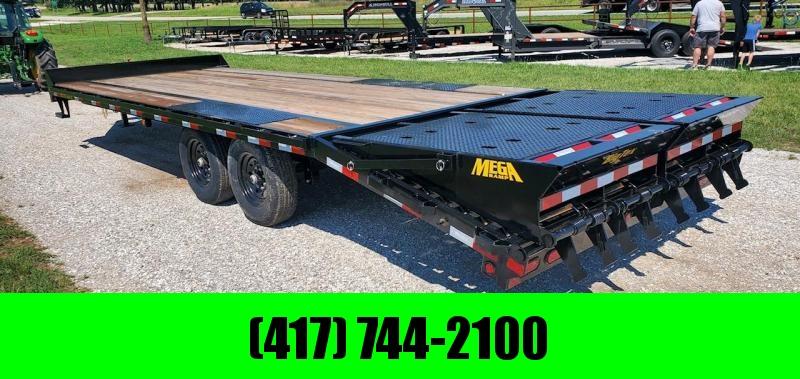 2022 Big Tex 102X25 TANDEM 15.9K DECKOVER PINTLE TRAILER W/ MAX RAMPS