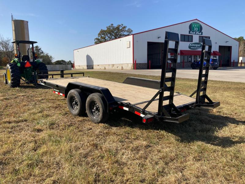 2021 Load Trail 83x20 Tandem 14K Equipment Trailer W/Stand Up Ramps
