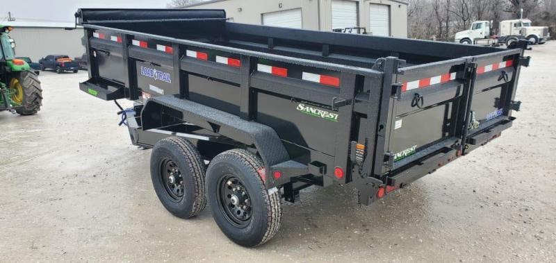 """2021 Load Trail 83X14 TANDEM 14K DUMP W/24"""" SIDES"""