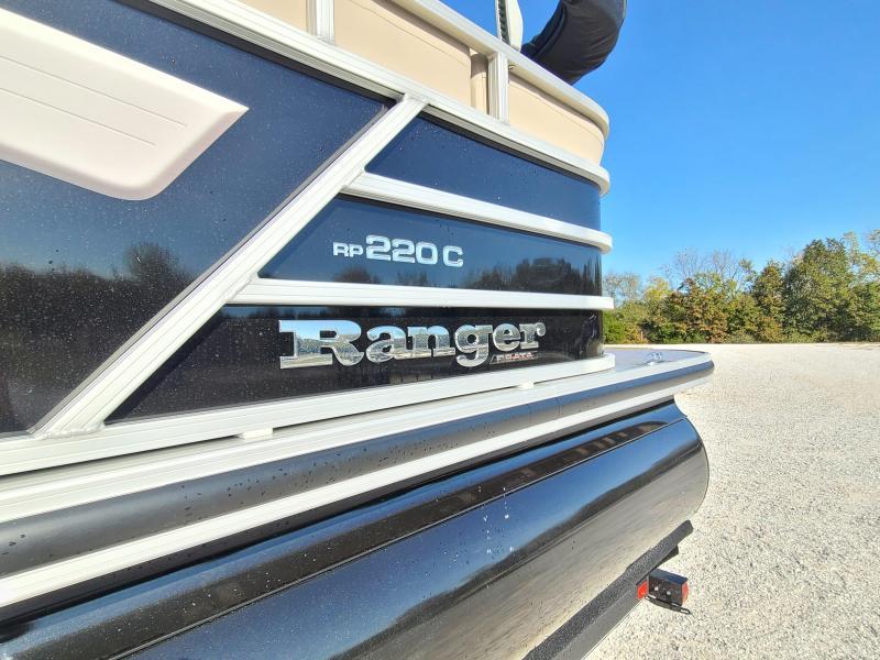 2021 RANGER RP220C PONTOON ( USED 3 TIMES )
