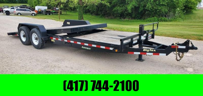 2016 Big Tex 83X22 TANDEM 14K GRAVITY TILT