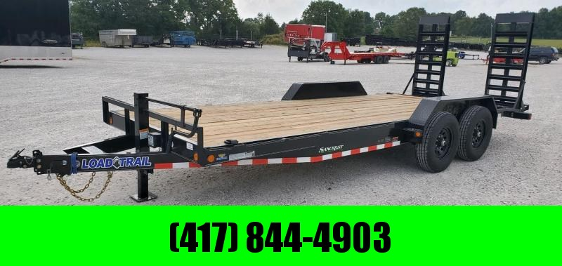 "2020 Load Trail 83X20 TANDEM 14K EQUIPMENT HAULER W/WIDE(24"") STANDUPS"