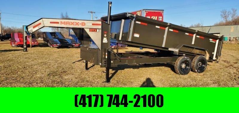 2021 MAXXD 83X16 TANDEM 16K TELESCOPIC DUMP W/ 8K AXLES 7GA FLOOR & 24K HOIST