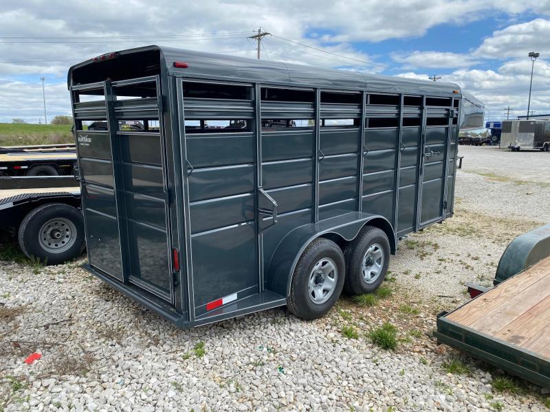 2021 Calico Trailers Tandem GN Livestock Trailer