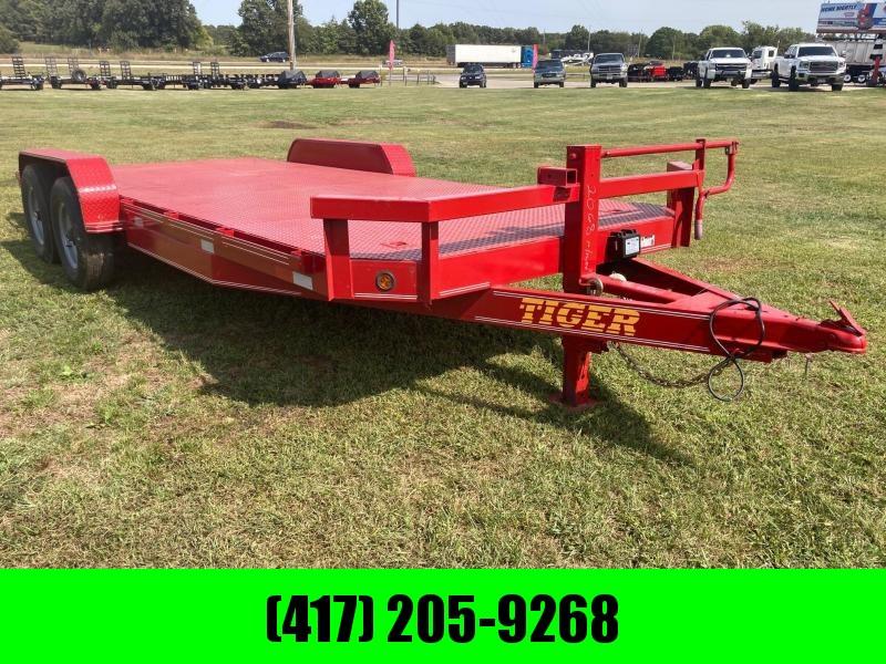 2021 Tiger 83x20 Tandem Steel Floor 14K Equipment Trailer