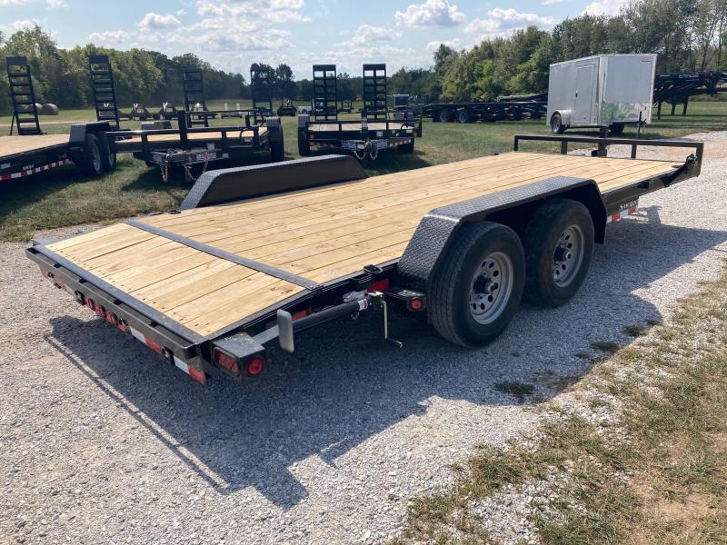 2022 Load Trail 83X18 TANDEM 10K CARHAULER W/ SLIDE IN RAMPS