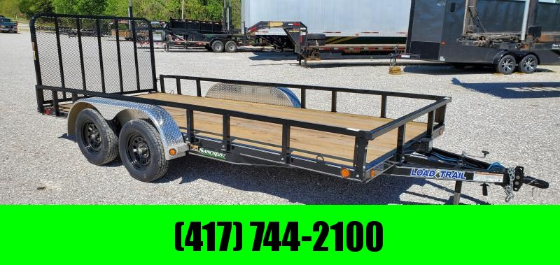 2020 Load Trail 83x16 TANDEM 7K UTILITY W/REMOVABLE SIDES & FENDERS