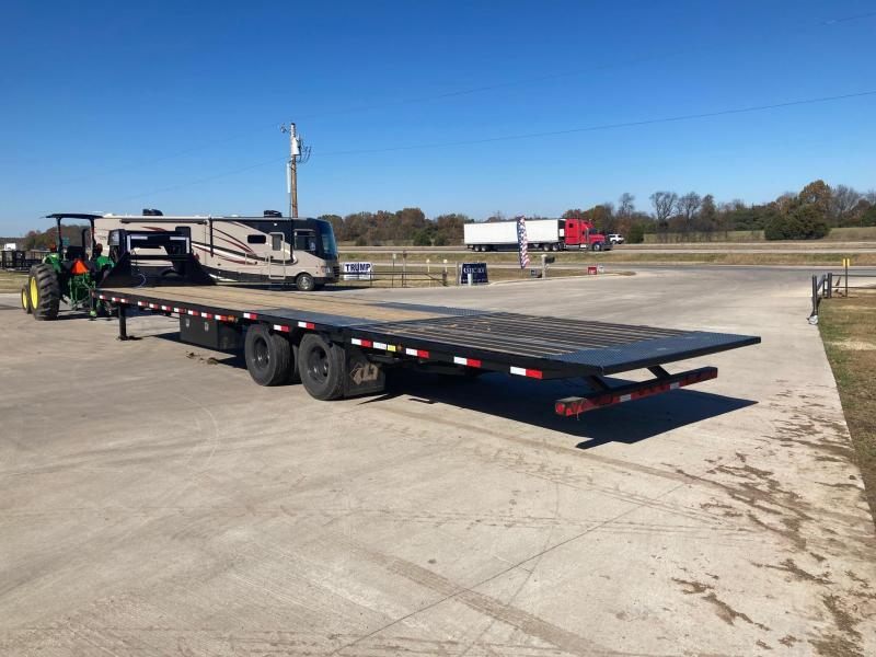 2021 Load Trail 102x36 Tandem Dual Low-Pro GN Flatbed Trailer W/Torque Tube & Hydro Tail