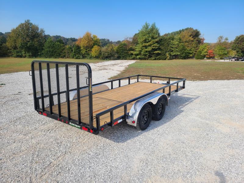 2022 Load Trail 83x16 Tandem Utility Trailer