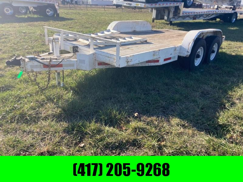 1996 Moritz International Tandem Equipment Trailer