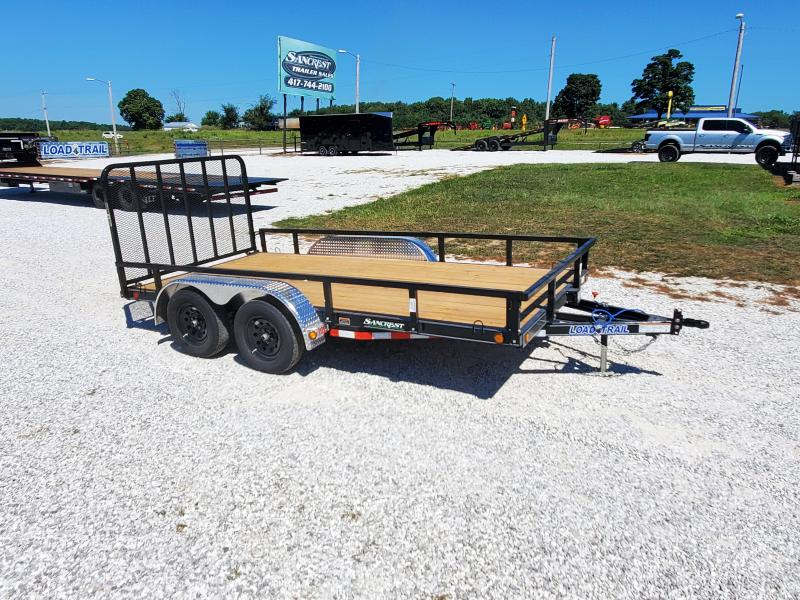 "2021 Load Trail 83"" x 14' Tandem Axle Utility (4"" Channel Frame)"