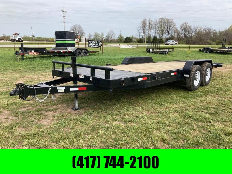 "2021 STAG Trailers 83""X22' W/ 18FT TILT AND 4FT STATIONARY"