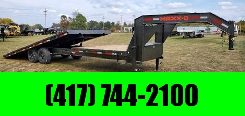 2021 MAXXD 102X28 TANDEM 16K GOX GN GRAVITY TILT W/8FT STATIONARY DECK