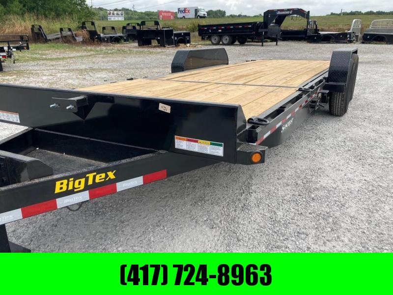 2022 Big Tex Trailers 83X22 TILT Equipment Trailer