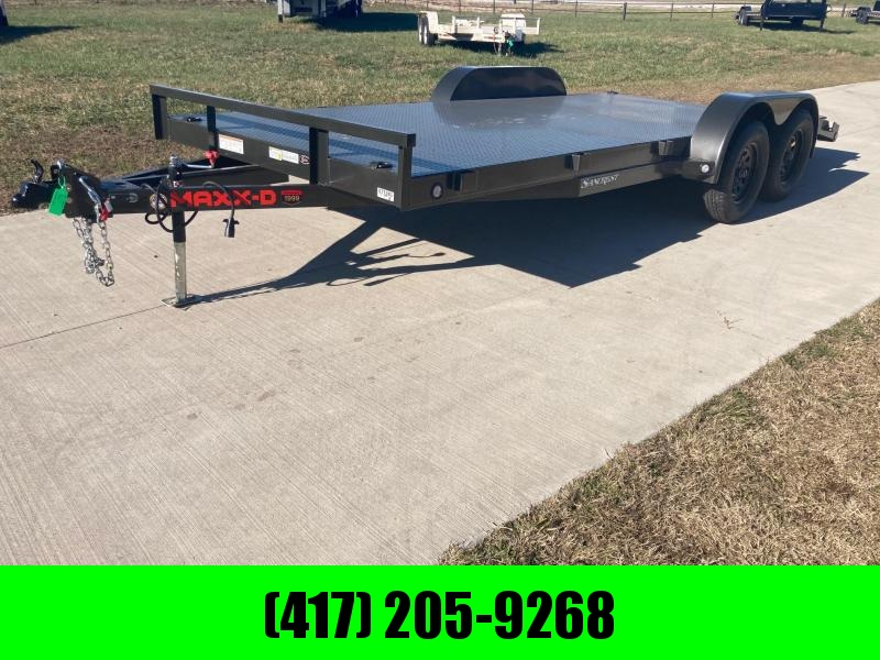2021 MAXXD 83x18 Tandem 7K Steel Floor Equipment Trailer