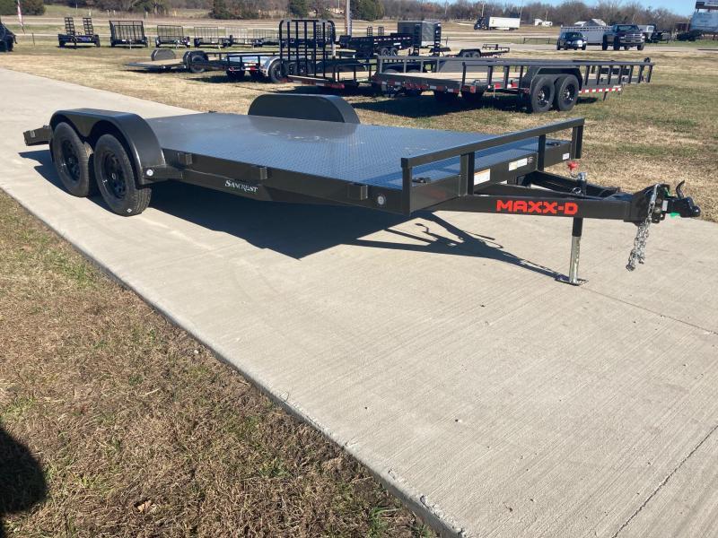 2021 MAXXD 83x18 Tandem 7K Steel Floor Equipment Trailer