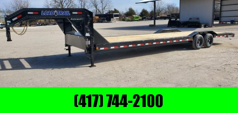 2021 Load Trail 102X32 TANDEM 14K CAR HAULER W/SLIDE OUT RAMPS & STAB JACKS