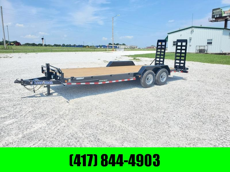 2021 Load Trail 83X22 TANDEM 14K CARHAULER W/ 2FT DOVE & STAND UP RAMPS