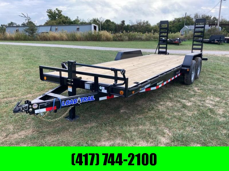 2022 Load Trail 83X22 TANDEM 14K CARHAULER W/ 2' DOVE AND STAND UP RAMPS