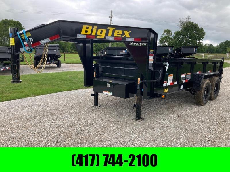 """2022 Big Tex 83X14 TANDEM 14K GN DUMP W/ 24"""" SIDES"""