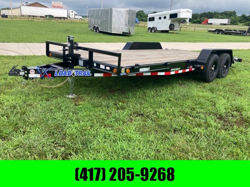 2021 Load Trail 83x18 Tandem Equipment Trailer