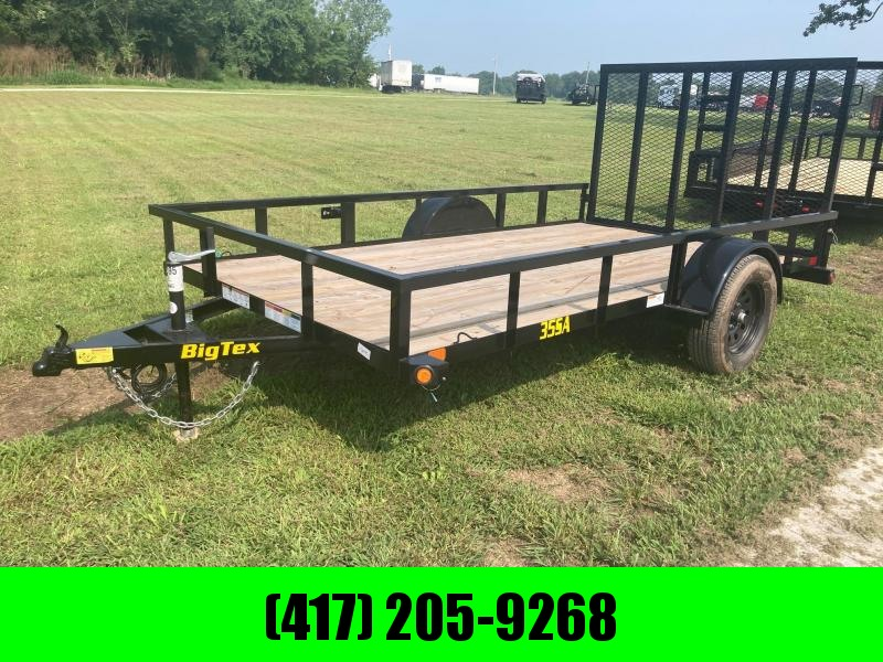 2022 Big Tex 77x12 Single Axle Utility Trailer