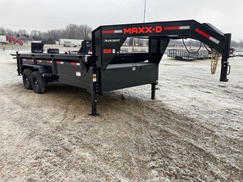 2021 MAXXD 83x16 Tandem GN Dump Trailer