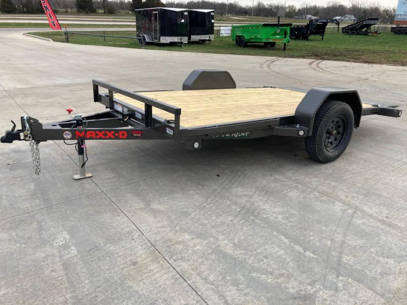 2021 MAXXD 77x12 Single Axle Gravity Tilt Equipment Trailer