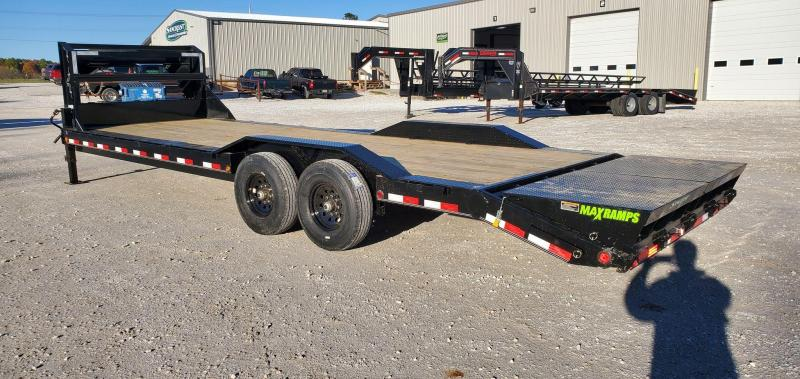 2021 Load Trail 102X26 TANDEM 16K GN EQUIPMENT HAULER W/8K AXLES & MAX RAMPS