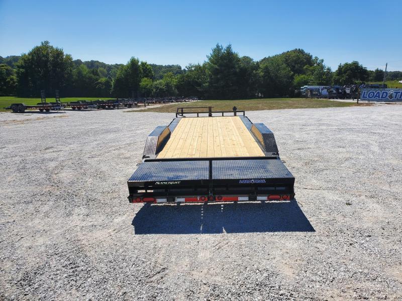 """2021 Load Trail 102"""" x 22' Tandem Axle Carhauler W/ 7ks"""