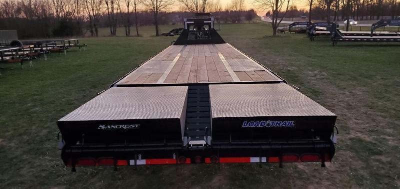 2021 Load Trail 102X36 TANDEM LO-PRO W/12K HYD DISC HDSS 14PLY & MAX RAMPS