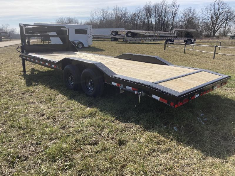2021 Load Trail 102x24 Tandem GN Equipment Trailer