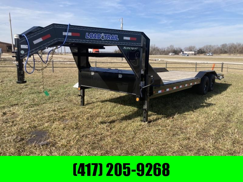 2021 Load Trail 102x24 Tandem GN Equipment Trailer