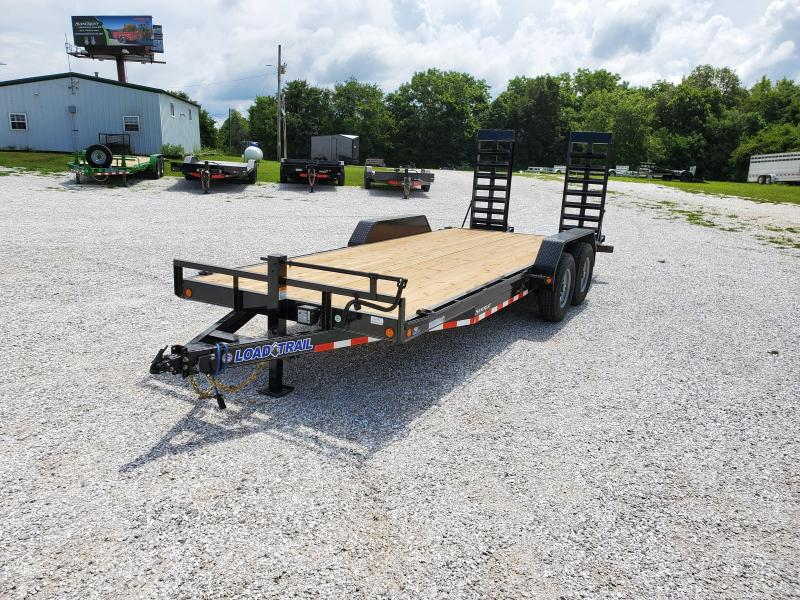 """2020 Load Trail 83"""" x 20' Tandem Axle Carhauler ( WIDE STAND UP RAMPS )"""