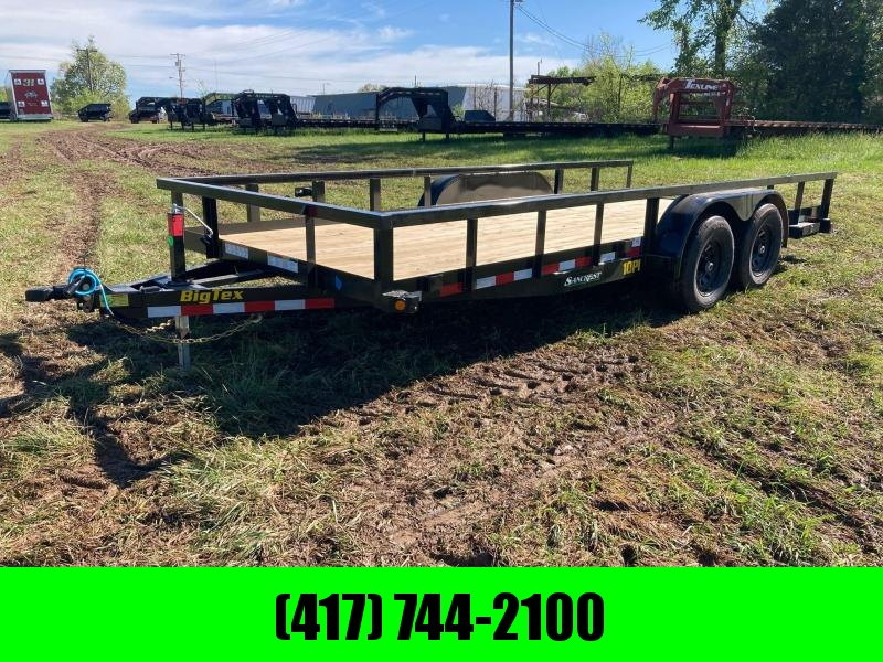 2021 Big Tex Trailers 83X18 TANDEM 10K UTILITY