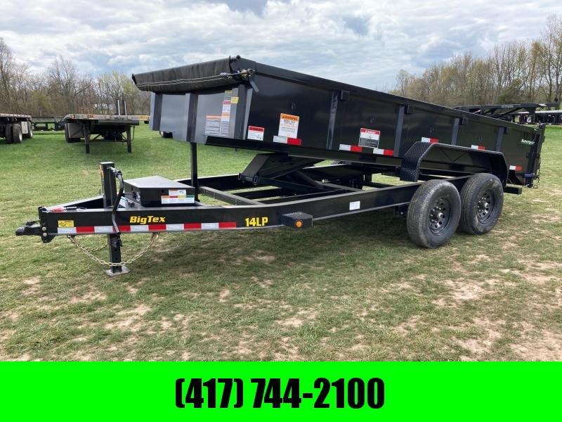 """2021 Big Tex 83x16 Tandem 14k Dump W/24"""" Sides"""