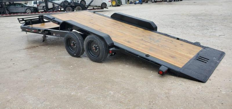 2021 Load Trail 83X22 TANDEM 16K TILT-N-GO W/8K AXLES & 6' STATIONARY DECK