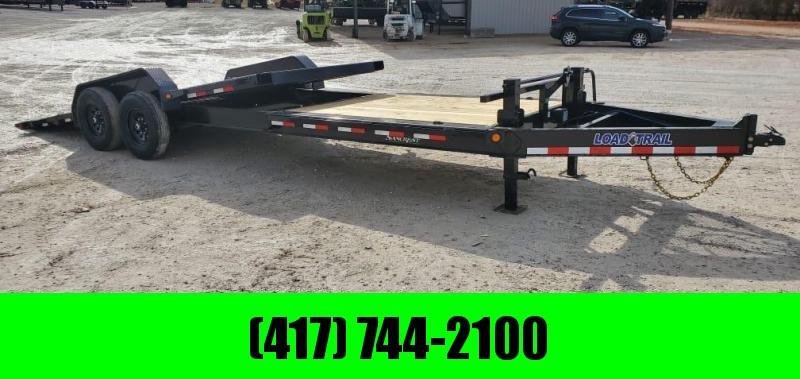 2021 Load Trail 83X24 TANDEM 14K GRAVITY TILT W/8FT STATIONARY