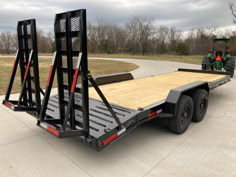 2021 Traxx 84x22 Tandem 16K Carhauler/ Equipment Trailer