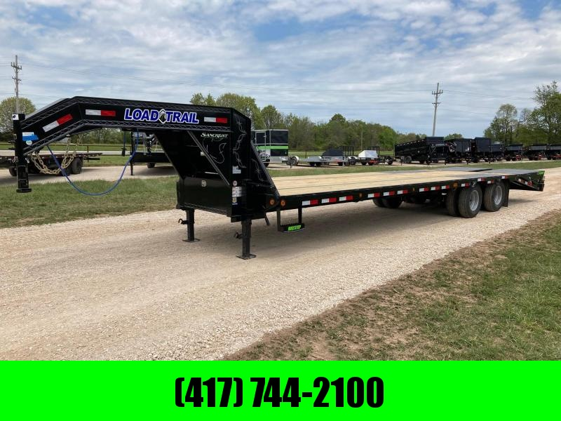 2021 Load Trail 102X32 TANDEM DUAL 24K GOOSENECK W/ 5FT DOVE AND MAX RAMPS