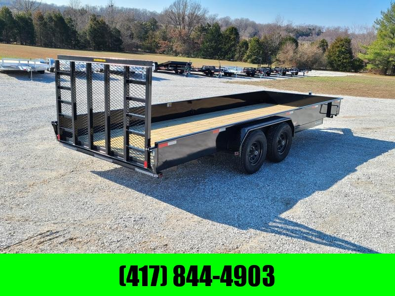 2021 H and H Trailer TANDEM 10K UTILITY W / SOLID SIDE
