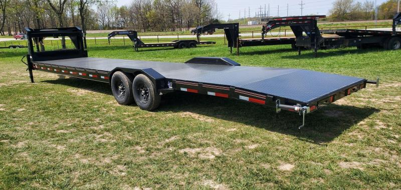 2021 Diamond C Trailers 82x36 Tandem GN EQ. TRAILER W/ DRIVEOVER FENDERS