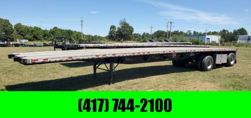 "2008 Fontaine 102X48 FONTAINE RENEGADE ALUMINUM COMBO FLATBED W/122"" SPREAD"