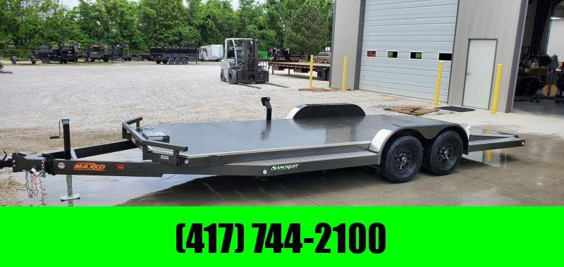 2020 MAXXD TANDEM 7K METALLIC GRAY N5X CAR HAULER