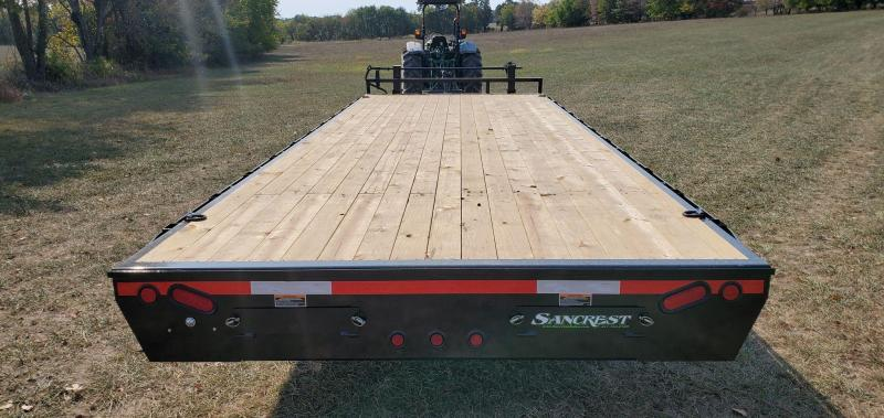 2021 Load Trail 102X24 TANDEM 14K DECKOVER W/8' SLIDE OUT RAMPS