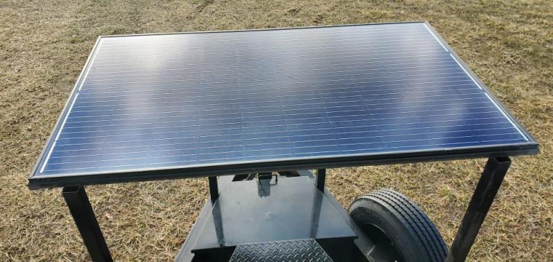 2020 MAXXD 102X22 TANDEM 16K DECKOVER POWER TILT W/8K'S HYDRO JACK 300 WATT SOLAR PANEL & 2 BUTTON WIRELESS
