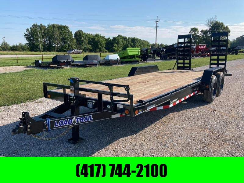 2021 Load Trail 83X22 TANDEM 16K CARHAULER W/ 2FT DOVE & STAND UP RAMPS