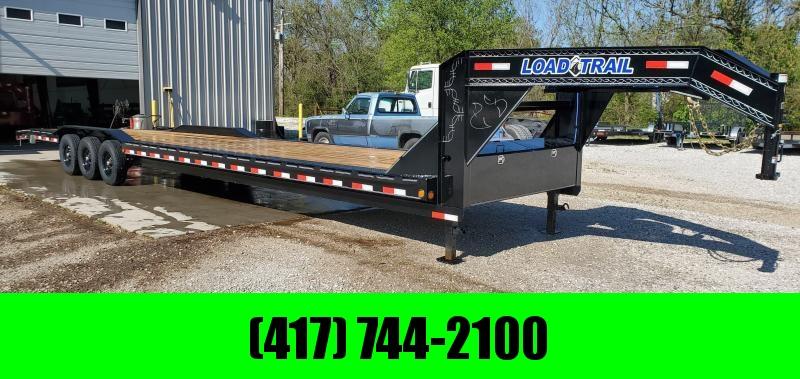 2020 Load Trail 102X40 TRIPLE 21K GOOSENECK CAR HAULER W/SLIDE OUT RAMPS