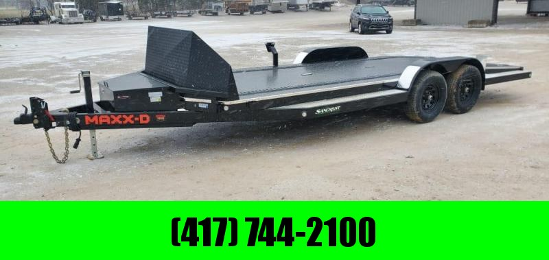 2021 MAXXD 83X20 TANDEM 10K N6X CAR HAULER W/ SHIELD IN-FLOOR LIGHTS DNL TOOLBOX & E-TRAC