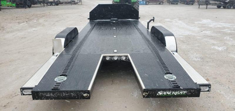 2021 MAXXD 83X20 TANDEM 10K N6X CAR HAULER W/ SHIELD IN-FLOOR LIGHTS DNL TOOLBOX & E-TRAC